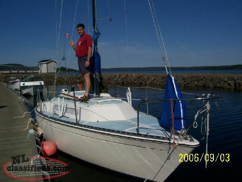 1977 Paceship PY23 Sailboat and Trailer