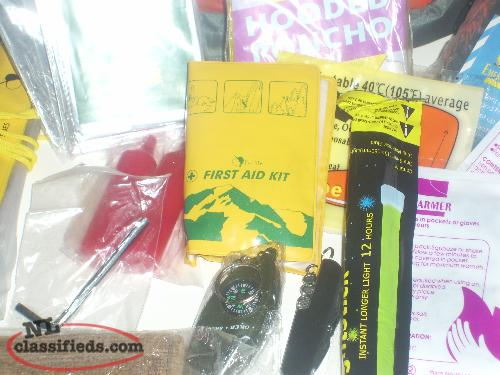 ALL IN ONE First Aid and safety kit