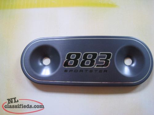 HD Sportster 883 nameplate for air filter cover