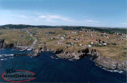One Acre Lot - Lower Island Cove - Conception Bay