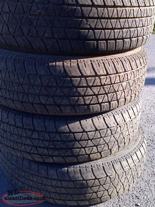 Size P215/70R15 tires for sale