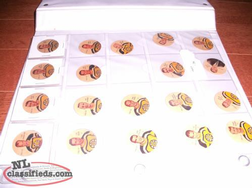 1961-62 Original Six Hockey Pogs