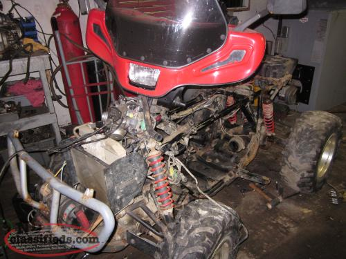 Parting Out 2008 Honda 500 Rubicon Canadian Trail Ad