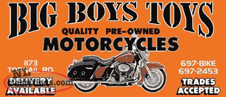 Big Boys Toys Specializing in Harley Davidson