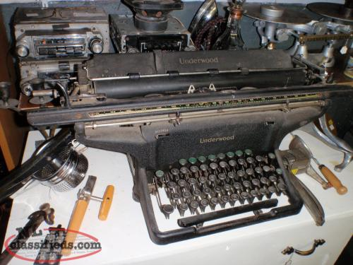 FROM MILL IN GRAND FALLS -WINDSOR TYPEWRITER