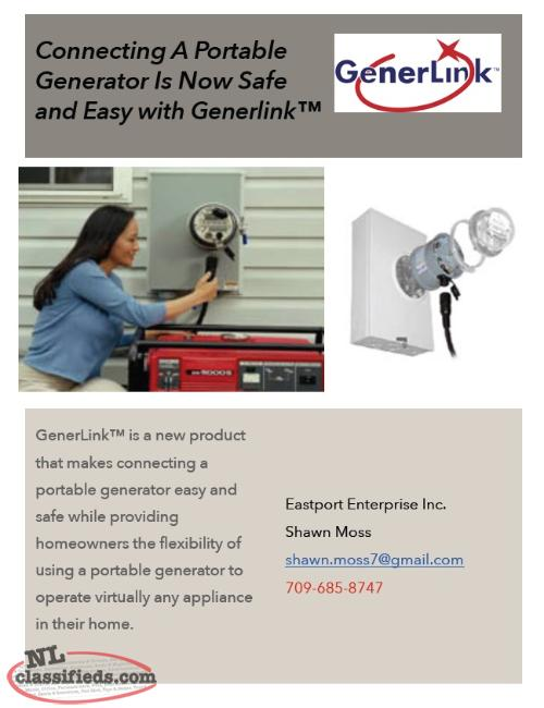 Connecting a Portable Generator is Now Safe & Easy