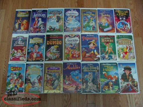 VHS Collectible Disney Movies
