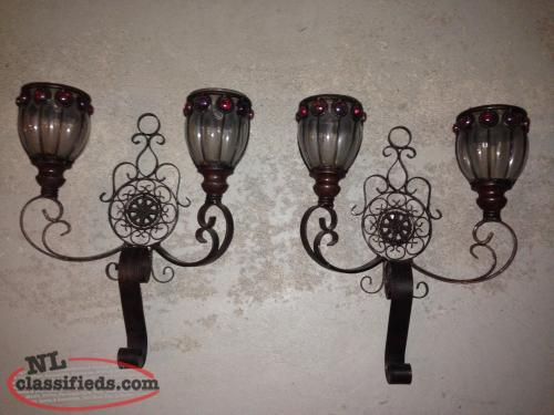 Wall Candle Lamps