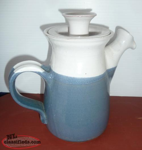 Whimsical Antique Newfoundland Pottery Teapot