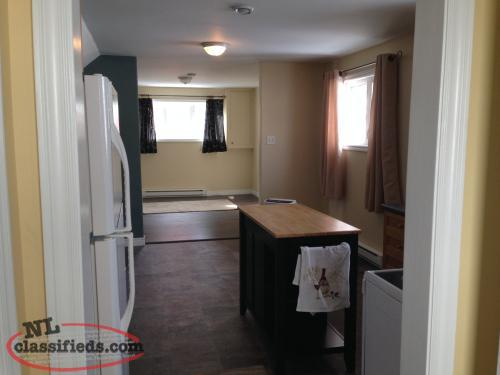 1 Bed room apartment South Lands (above ground)