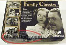 Family Classics - 10 VHS Box set. (sealed)