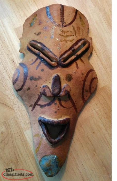 Clay Hanging Mask
