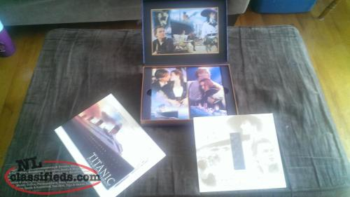 TITANIC COLLECTOR'S EDITION 2 VHS TAPES (1997)