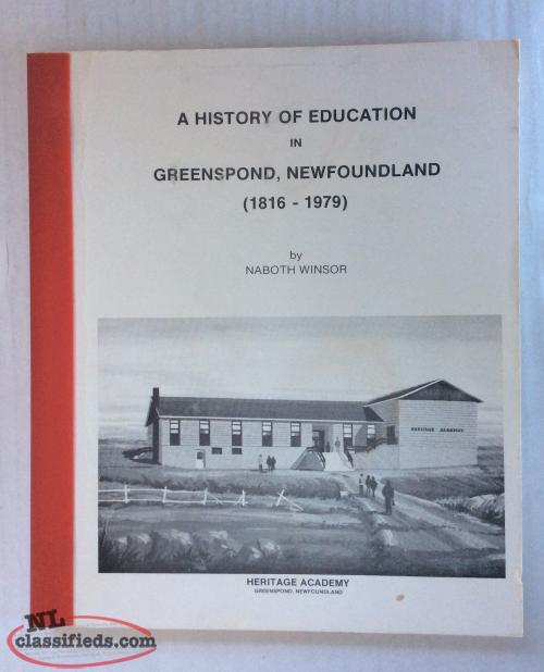 Greenspond - Education