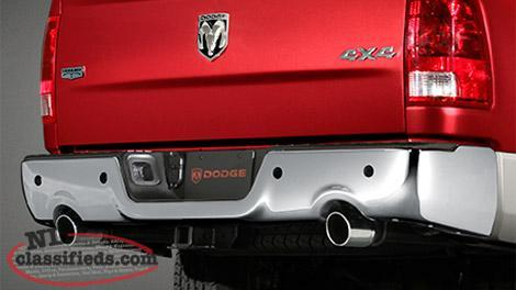 Ram Sport Dual Cat Back Exhaust - stock