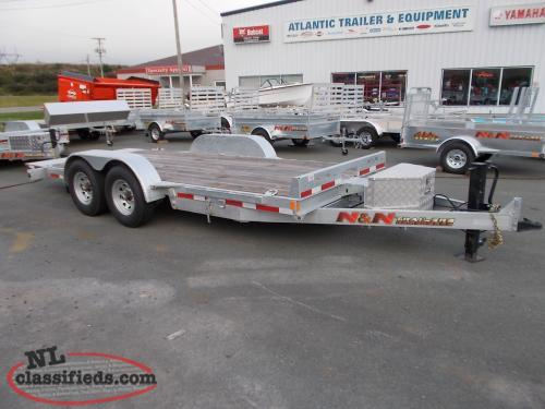 TILT DECK EQUIPMENT TRAILER