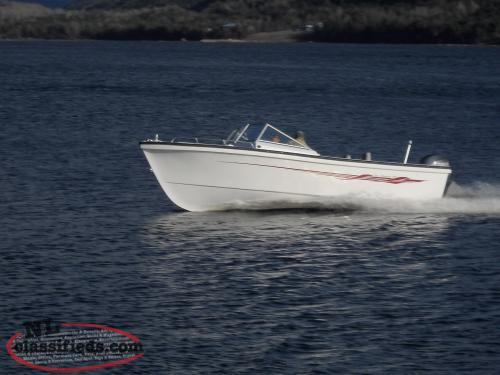 Sea Serpent 22' and 26' Open Fishing Boats
