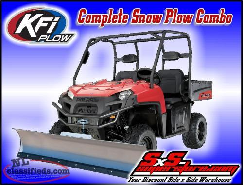 SALE ON KFI PLOWS IN STOCK ONLY