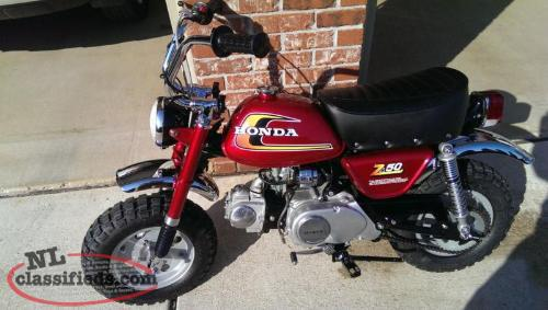 Wanted 1972 to 1978 Honda mini Trail 50