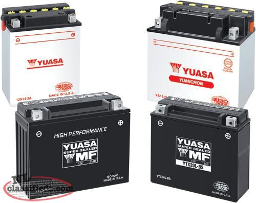 Maintenance Free Sealed Batteries For snowmobiles, ATVs & Side x Sides