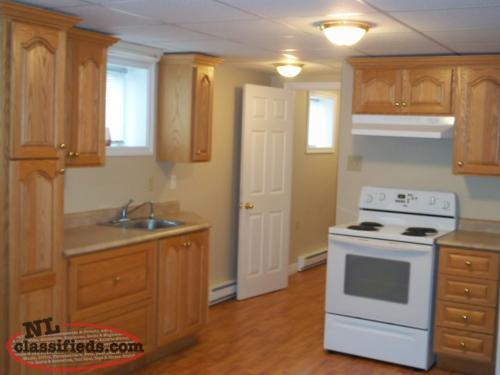 Beautiful 1 bedroom basement apartment in Conception Bay South