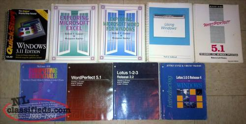 OLD COMPUTER MANUALS