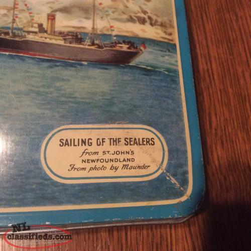 Newfoundland sealers tin