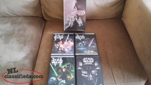 Star Wars Trilogy ( 2004 ) 4-DVD Boxed Set