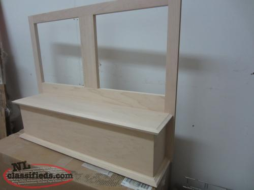 Signature Maple Hood cabinet