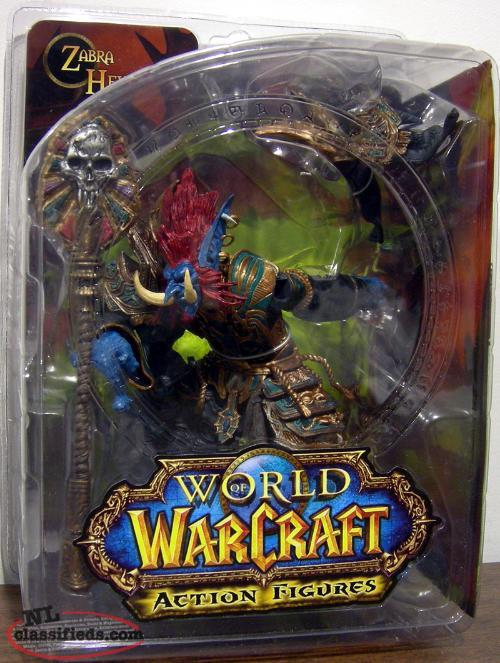 World of Warcraft (WOW) Action Figure - TROLL PRIEST