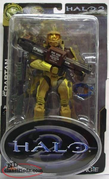 Halo 2 Tan Spartan (Master Chief) Action Figure NEW & UNOPENED.