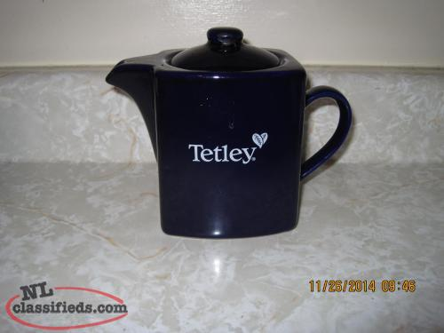 Tetley tea pot.