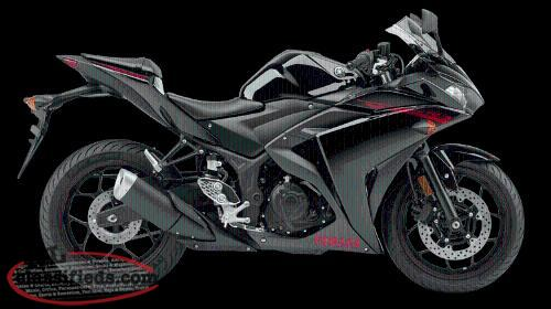 NEW 2015 YAMAHA YZF-R3 BLACK