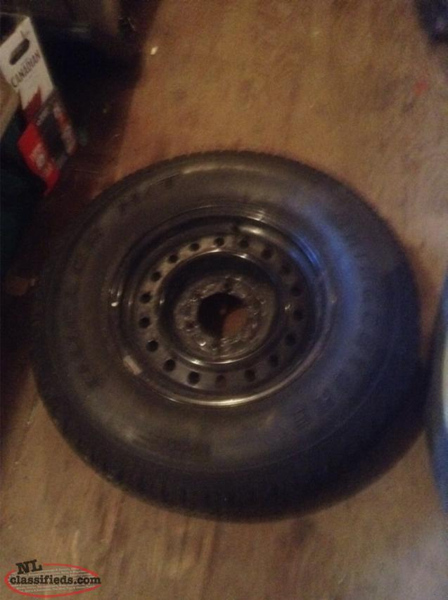 Spare Tire For A Toyota 4Runner
