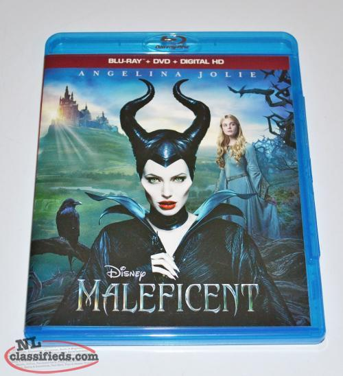 Disney Maleficent - Blu Ray & DVD