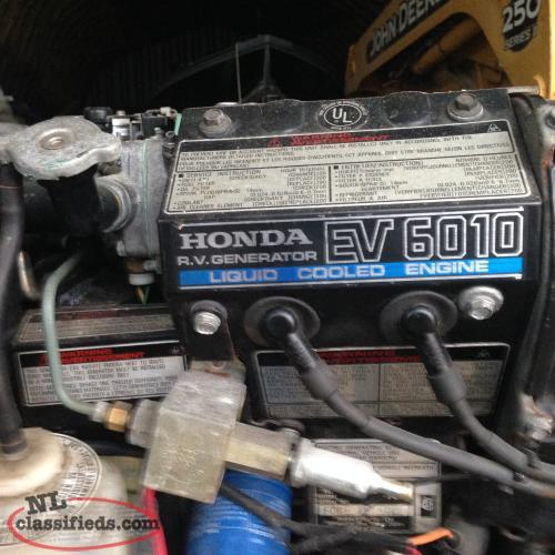 Three Honda EV 6010 RV generators for sale