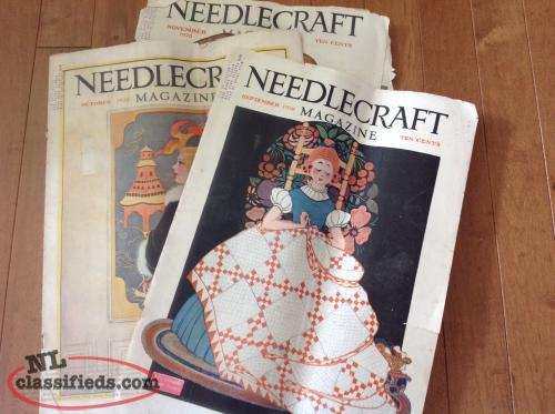 1928 Needlecraft Magazines