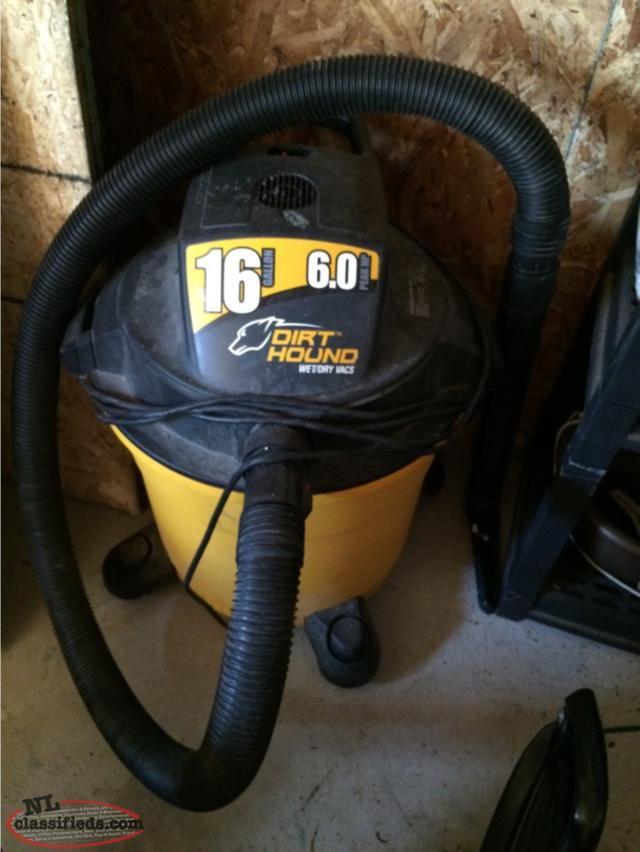 Dirt Hound Shop Vac