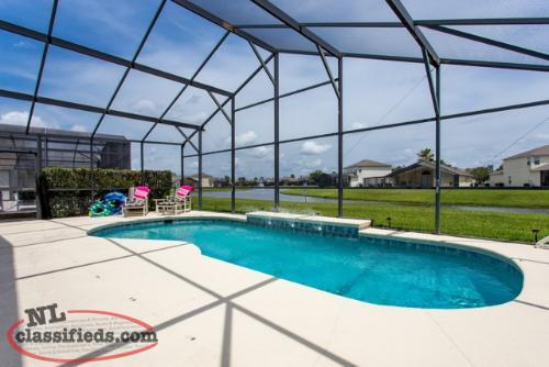 FLORIDA: Lakeside Pool Home Very Close to Disney - NL Owner