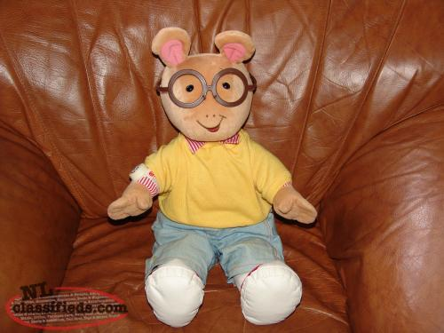 "1998 Arthur Doll 24"" talks and actimates Microsoft Interactive"