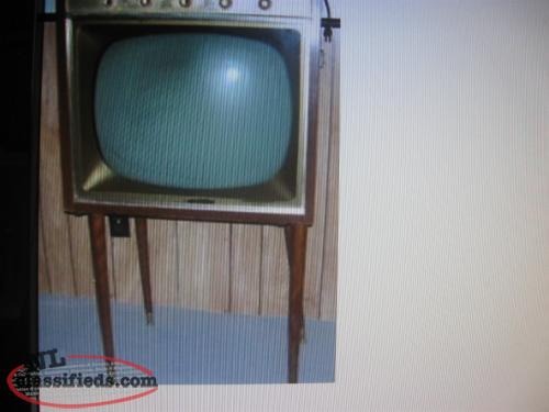 PURCHASED IN 1951 MARCONI 21 INCH TV- 100% ORIGINAL