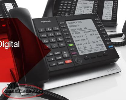 Toshiba Business Phone System - Great for small office -- some equipment is new