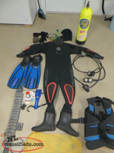 REDUCED...$800..Complete Diving Gear...