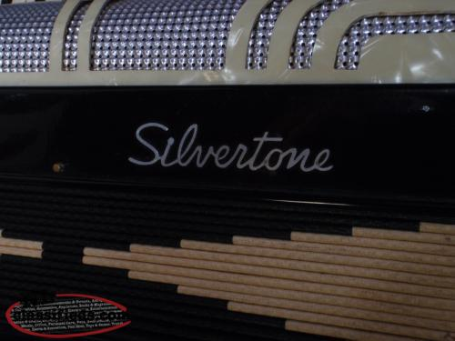 OLD SILVERTONE 48 BASS PIANO ACCORDION