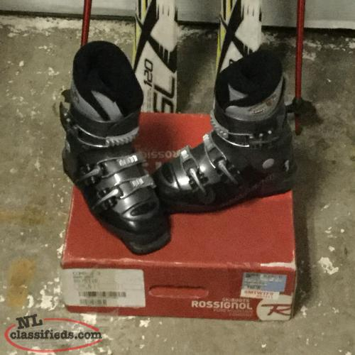 Downhill Skis and Boots For Sale