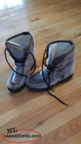 sealskin boots size 6