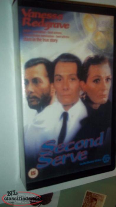 VHS movie for sale, SECOND SERVE