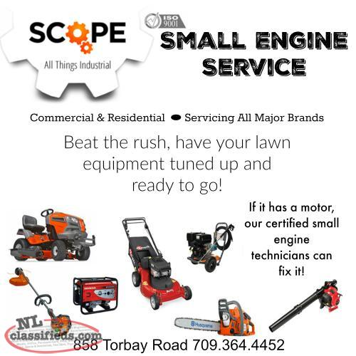 Scope Industrial Small Engine Service