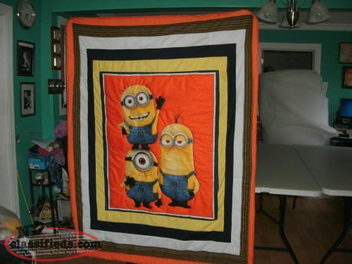 STAR WARS MINIONS, OLAF AND SOFIA AND MORE PATCH QUILTS
