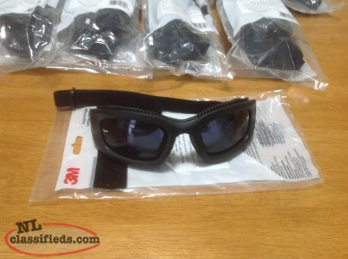 New 3M Maxim 2x2 Air Flow Safety Goggles